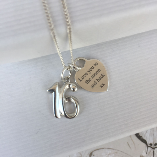 16th birthday gift for a sister - FREE ENGRAVING